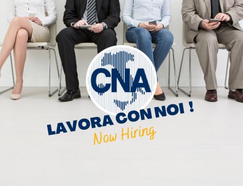 LAVORA CON NOI! Entra nel Network CNA-Ecipa FVG !